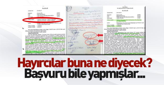 CHP ve HDP'den Büyükçekmece'de mühürsüz oy başvurusu