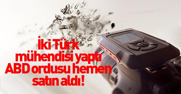 İki Türk yaptı, ABD ordusuna sattı