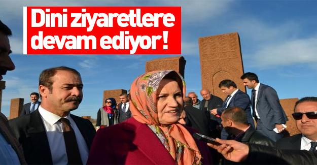 Meral Akşener dini ziyaretlere devam ediyor!