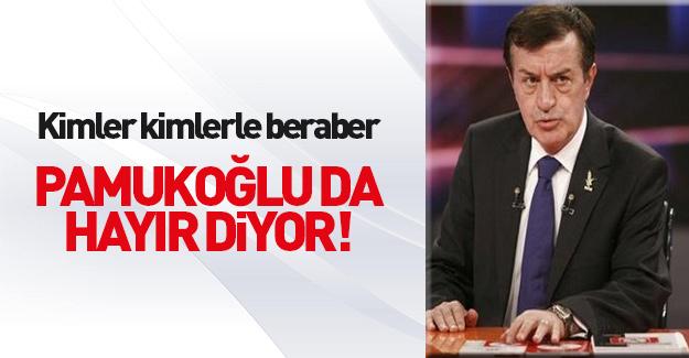 Osman Pamukoğlu: 'Hayır' oyları önde
