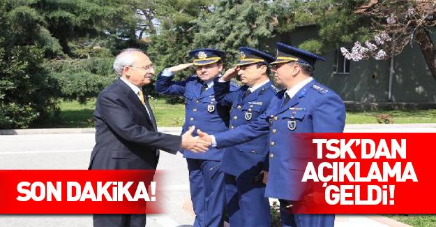TSK'dan mangalı karşılama açıklaması