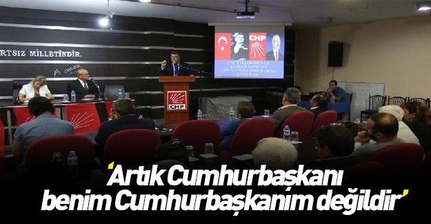 CHP Erdoğan'ın Cumhurbaşkanlığını kabul etmiyor