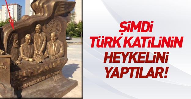 CHP Türk katilinin heykelini yaptı