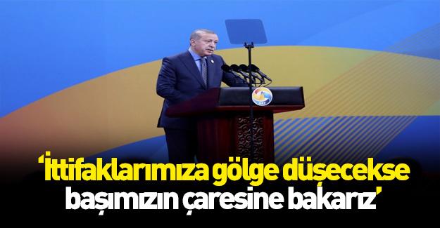 Cumhurbaşkanı Erdoğan'dan PYD ve ABD açıklaması