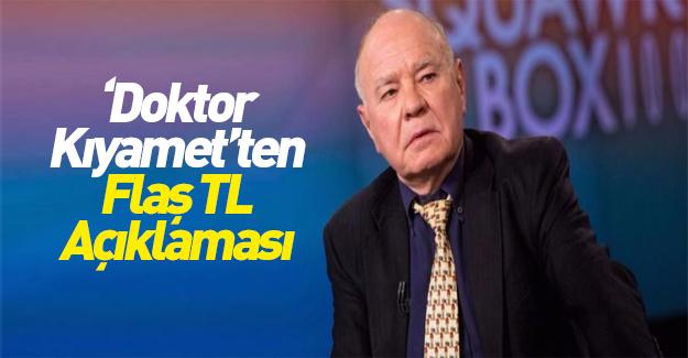 'Doktor Kıyamet'ten TL açıklaması! Hazır olun