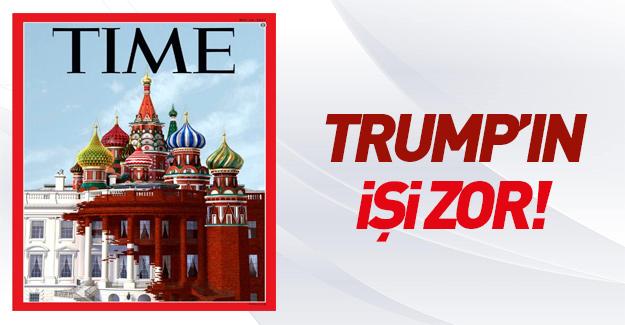 Time dergisinin Beyaz Saray/Kremlin kapağı