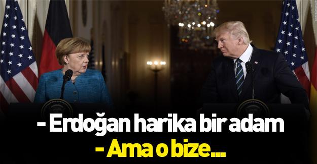 Trump, açık açık yüzüne söylemiş! Erdoğan...