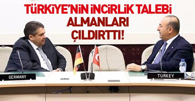 Türkiye'nin İncirlik talebi Almanları çıldırttı