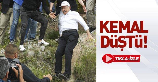 Kemal düştü! Tıkla - İzle
