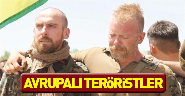 Avrupalı teröristler