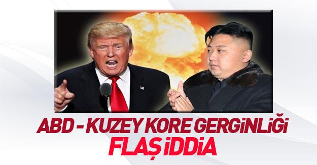 ABD ile Kuzey Kore ilgili flaş iddia!