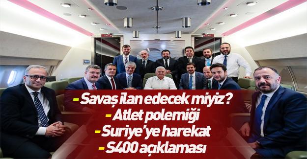Başbakan açıkladı: Türkiye Savaş sebebi sayar mı?
