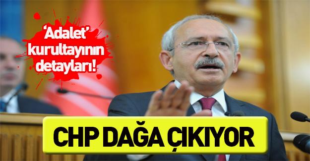 CHP'nin Adalet Kurultayı'nın detayları