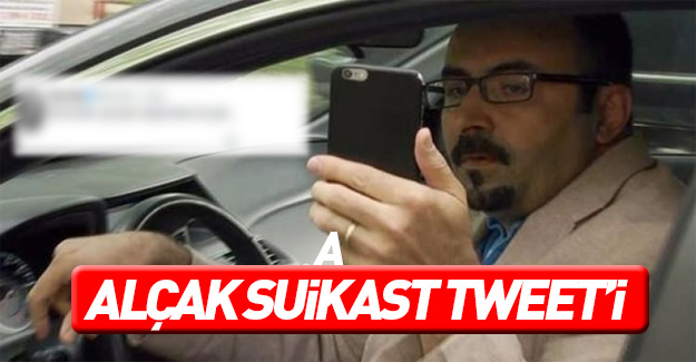 FETÖ'cü Uslu'dan suikast Tweeti!