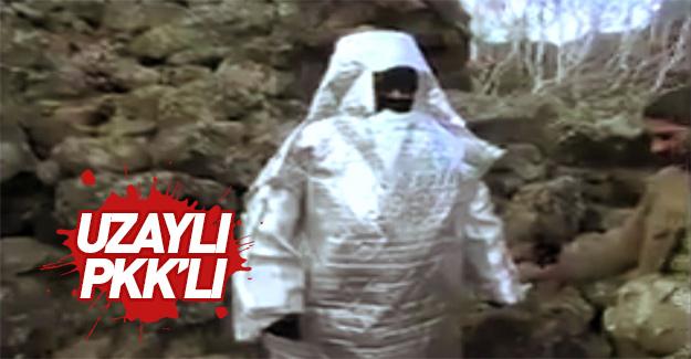 İşte Uzaylı PKK'lı...