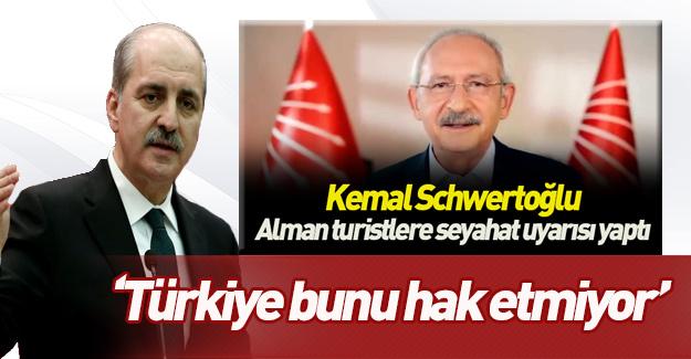 Kurtulmuş'tan Kılıçdaroğlu'nun 'Türkiye güvenli değil' sözlerine sert tepki!