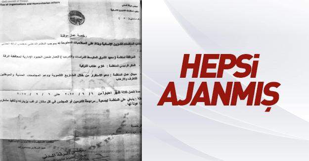 PKK'nın belgesi ortaya çıktı! Onların hepsi ajan