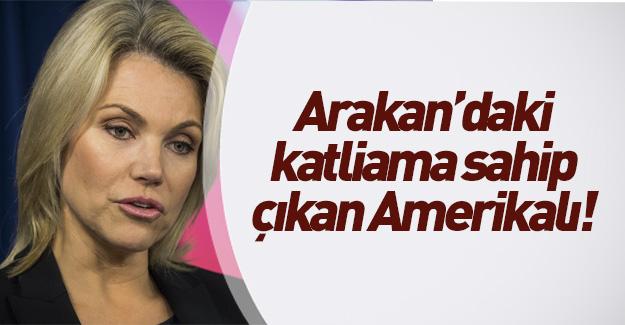ABD sözcüsüne Myanmar soruları!