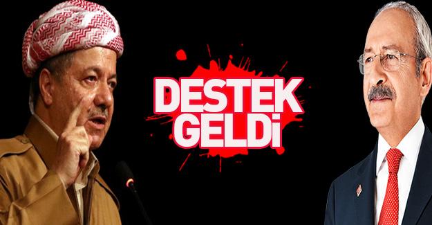 Kılıçdaroğlu'ndan Barzani'ye skandal destek!