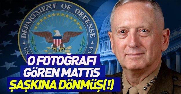 O fotoğrafı gören ABD Savunma Bakanı şaşkına dönmüş (!)