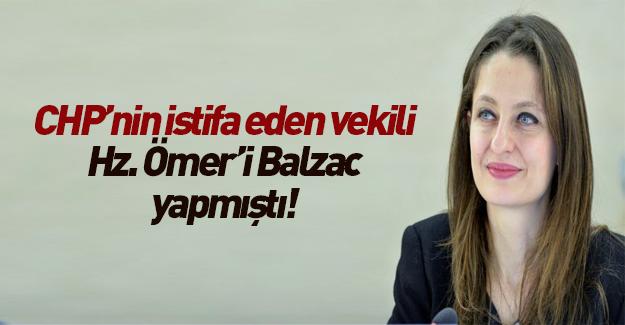 Şafak Pavey, Hz Ömer'i Balzac yapmıştı!