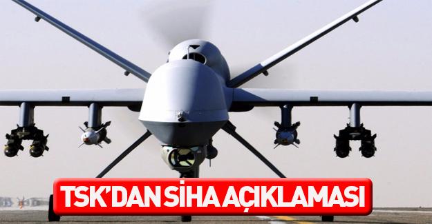 TSK: SİHA'lar sivilere zarar vermemiştir