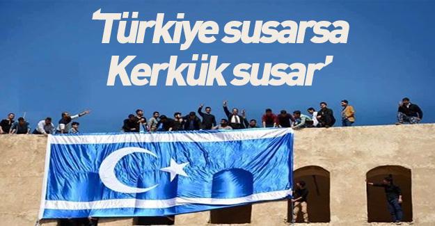 Türkiye susarsa Kerkük biter!