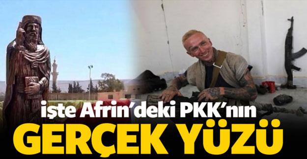 İşte Afrin'deki PKK'nın gerçek yüzü