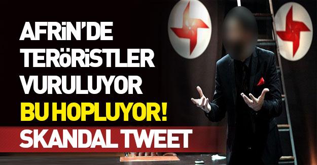 Terör sevici sözde tiyatrocu YPG'ye ağlıyor