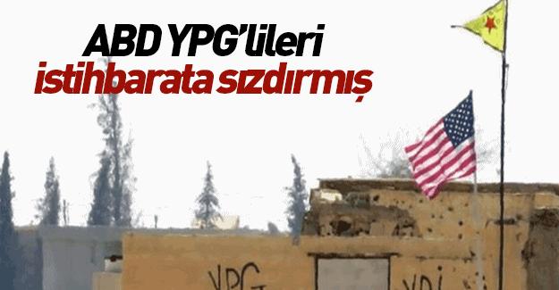 ABD YPG'lileri Suriye istihbaratına sızdırmış