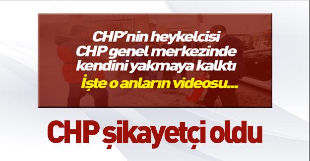 CHP hem kazıklıyor hem şikayet ediyor