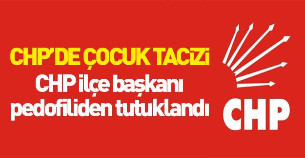 CHP'li sapık tutuklandı