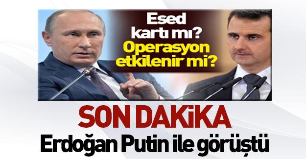 Erdoğan ile Putin telefon görüşmesi yaptı!