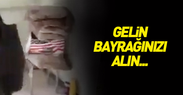 """""""Gel al bayrağını ABD"""""""