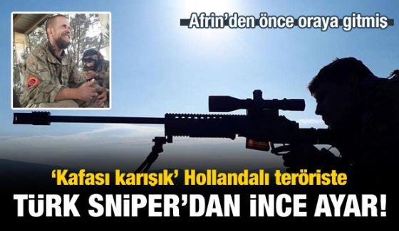 'Kafası karışık' Hollandalı teröriste TSK'dan ayar