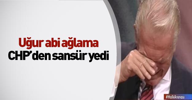 Uğur Dündar'ı CHP sansürledi