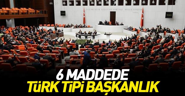 Türk tipi başkanlık sistemi nasıl olacak