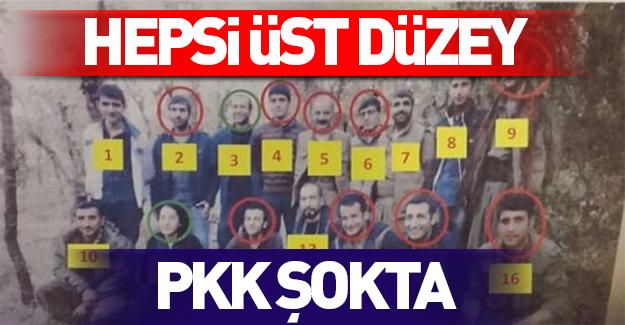 PKK'nın üst düzey yönetimine büyük darbe
