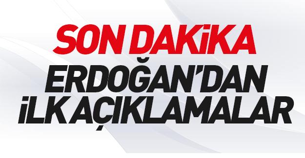 Cumhurbaşkanı Erdoğan: Şehit ve yaralılarımız var