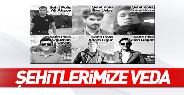 İstanbul'daki terör saldırısında şehit olan polislerimiz