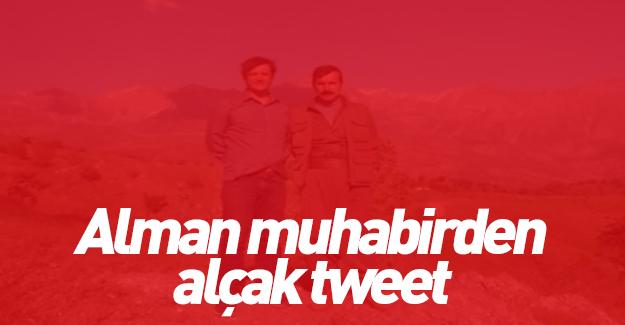 Alman DW muhabiri açık açık PKK'yı övdü