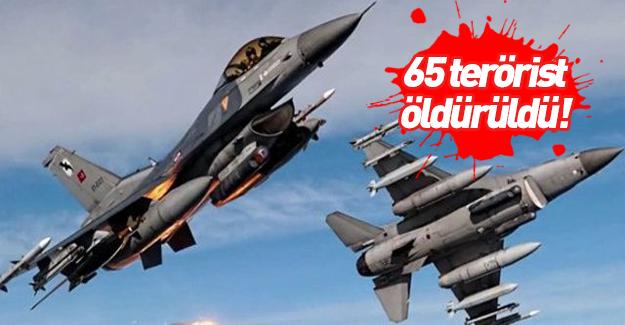 Türkiye karadan ve havadan bombalıyor!