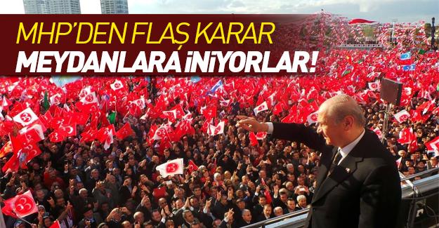 MHP'den flaş 'referandum' açıklaması!