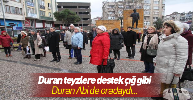 Balıkesir'de CHP'li kadınlar eylemi sürdürdü