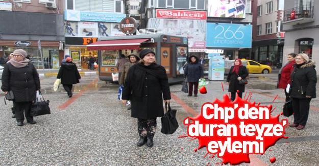 Balıkesir'de CHP'li kadınlardan 'yeni anayasa' tepkisi