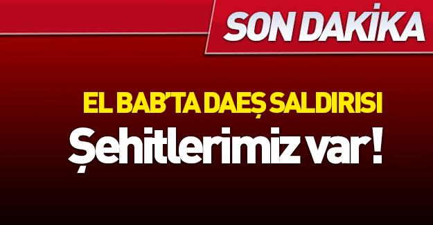 El Bab'da Türk askerine saldırı!