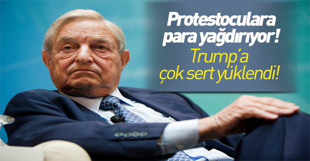 Soros'tan Trump'a ağır sözler