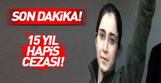 Fehriye Erdal'a ceza!