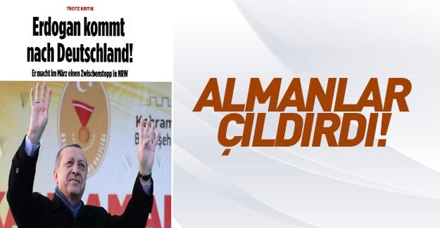 Alman Bild gazetesinin Erdoğan rahatsızlığı