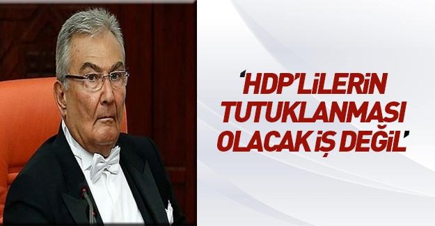 Deniz Baykal HDP'lilerin tutuklanmasına karşı